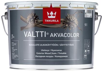 Tikkurila VALTTI AKVACOLOR (Vodou ředitelná, tenkovrstvá lazura)