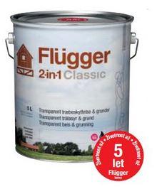 Flügger 2v1 Classic - lazurovací lak