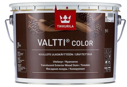 Tikkurila VALTTI COLOR GREY (Tenkovrstvá lazura na dřevo v šedých odstínech)