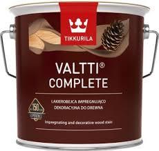 Tikkurila VALTTI COMPLETE COLOR (Tenkovrstvá lazura na dřevo s voskem)