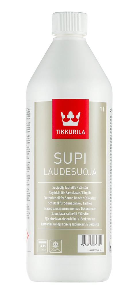 Tikkurila SUPI BENCH PROTECTION (Olej na lavičky v saunách)