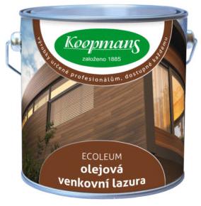 KOOPMANS ECOLEUM - venkovní lazura s vysokým obsahem oleje