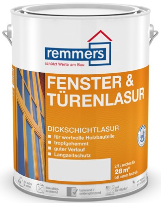 Remmers FENSTER & TÜREN (LAZURA na okna a dveře)
