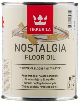 Tikkurila NOSTALGIA FLOOR OIL (Přírodní olej na podlahu)