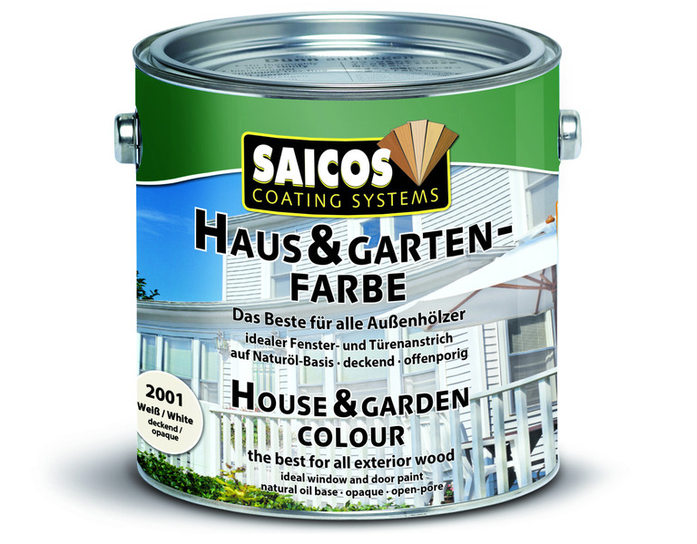 SAICOS barva pro dům a zahradu