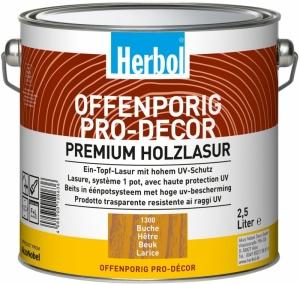 Herbol-Offenporig Pro-Décor - lazura na dřevo