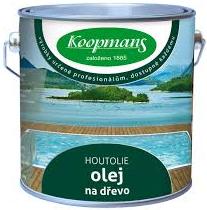 Koopmans HOUTOLIE (Barevný olej na dřevo pro dřevo v exteriéru i interiéru)