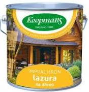 Koopmans IMPRACHRON (Penetrující olejová lazura na dřevo v exteriéru)