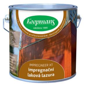 Koopmans IMPREGNEER XT (Barevná laková lazura na dřevo s impregnační funkcí)