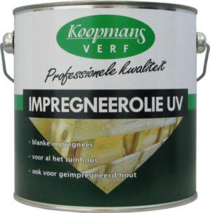 KOOPMANS IMPREGNEEROLIE - olejová impregnační lazura pro venkovní použití
