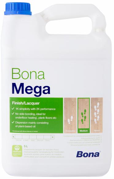 Bona MEGA (Vrchní lak na vodní bázi)