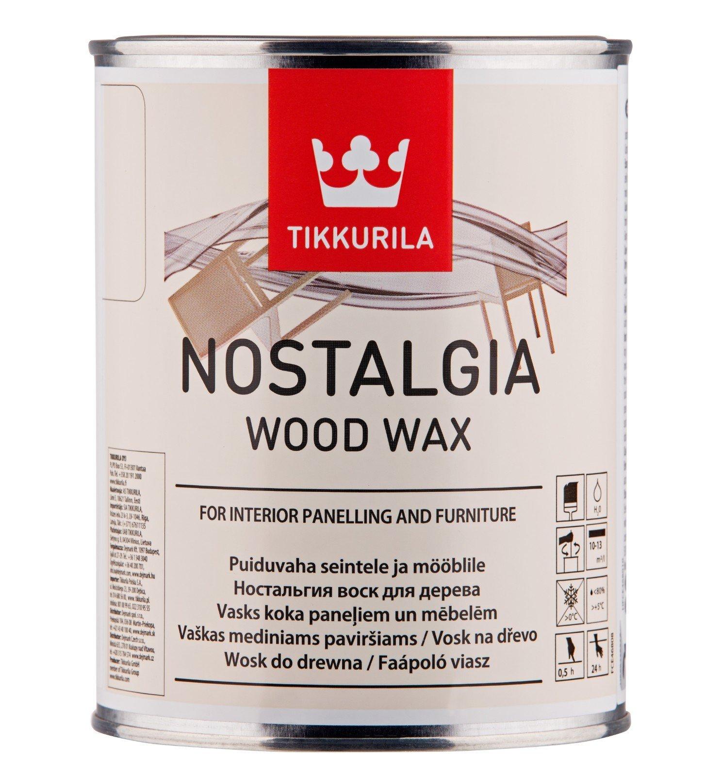 Tikkurila Nostalgia Wood Wax - vosk na dřevo