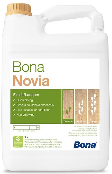 Bona NOVIA (Vrchní lak na vodní bázi)