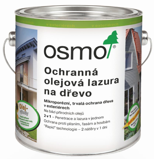Exteriér Osmo