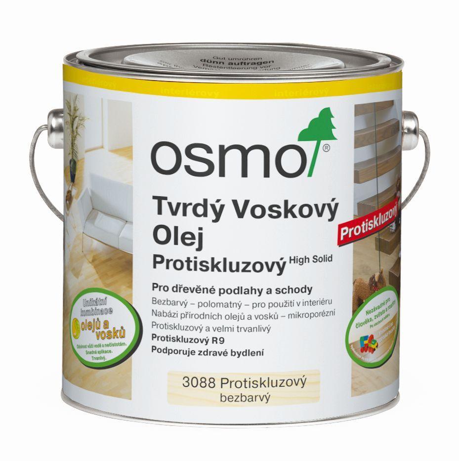Tvrdý voskový olej protiskluzový na podlahy