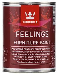 Tikkurila FEELINGS FURNITURE PAINT (Akrylátový vrchní barva na dřevěné povrchy v interiéru)