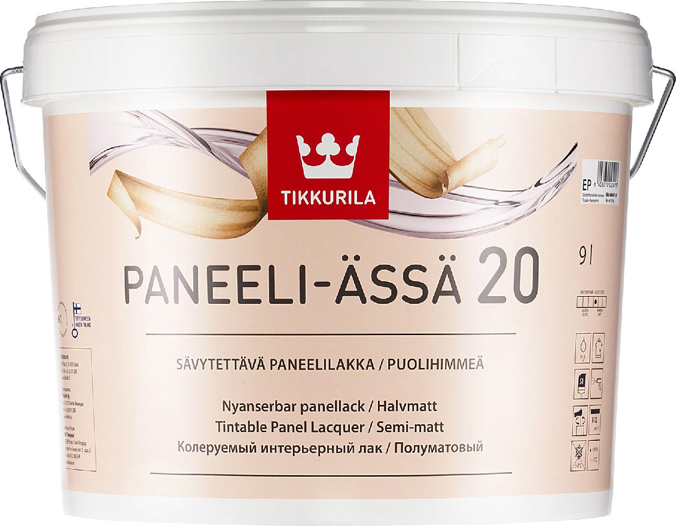 Tikkurila PANEELI ÄSSÄ (Lak na dřevěné obklady)