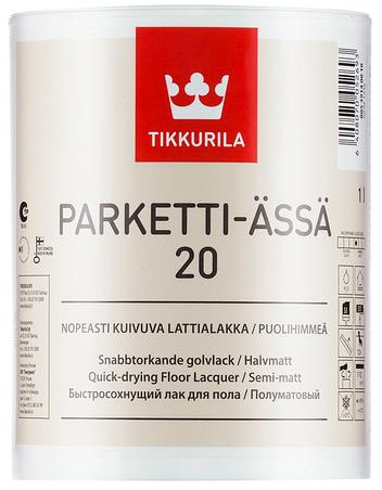 Tikkurila PARKETTI ÄSSÄ (Akrylátovo-polyuretanový lak na dřevěné podlahy)