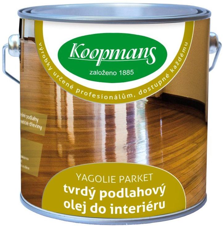 Koopmans YAGOLIE PARKET (Tvrdý podlahový olej do interiéru)