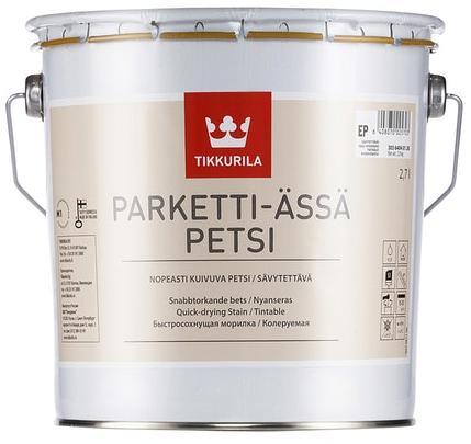 Tikkurila PARKETTI ÄSSÄ PETSI (Akrylátové mořidlo na dřevěné podlahy)