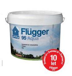 Flügger 95 Aqua - lazurovací lak (transparentní odstíny)