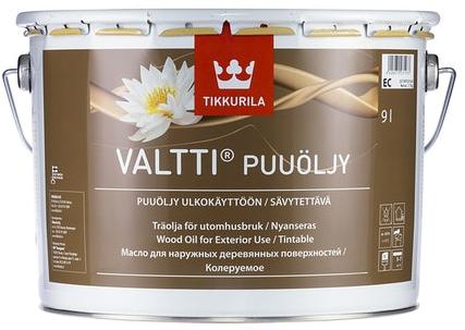 Tikkurila VALTTI WOOD OIL - PUUÖLJY (Tradiční olej na dřevo v exteriéru)
