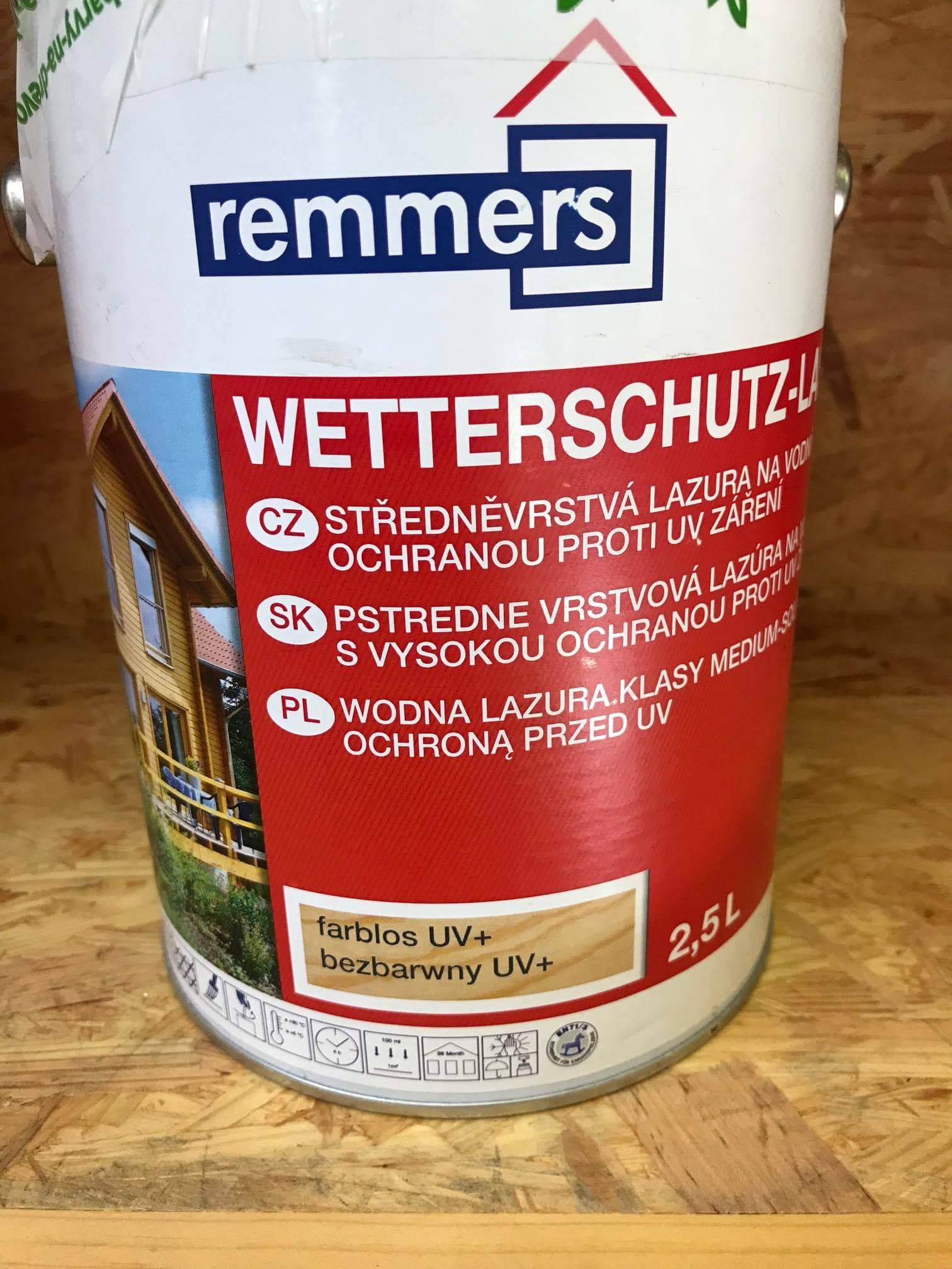 Remmers WETTERSCHUTZ-LASUR UV+