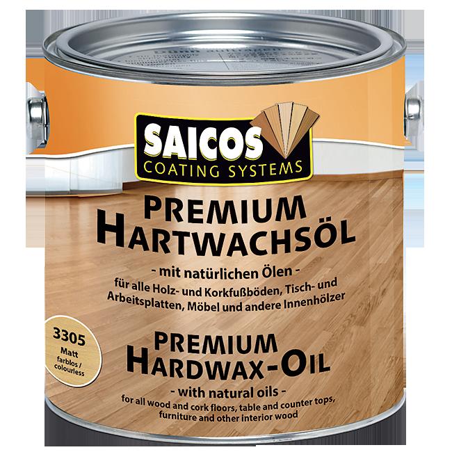 Saicos tvrdý voskový olej PREMIUM