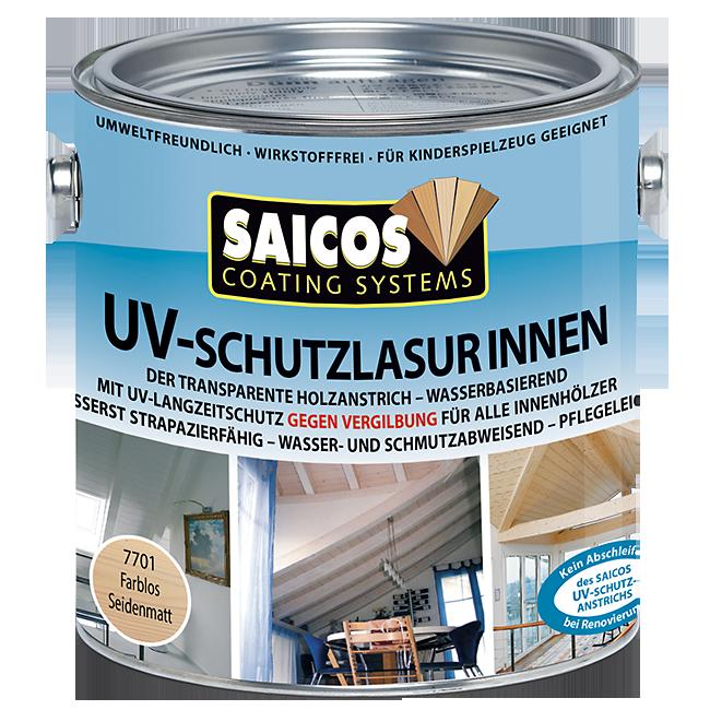 Saicos UV ochranná lazura vnitřní