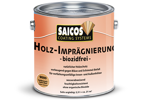 Saicos Impregnace dřeva bez biocidů
