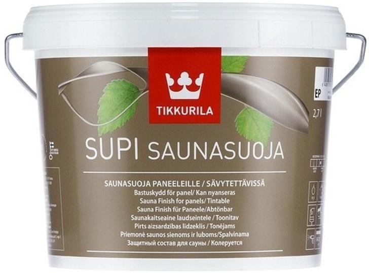 Tikkurila SUPI (Péče o dřevěné povrchy v sauně)