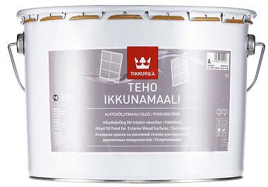 Tikkurila TEHO WINDOW PAINT (Alkydovo-olejová, pololesklá krycí barva na okna)