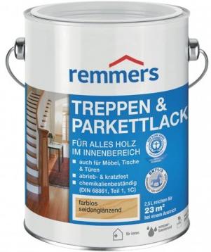 Remmers TREPPEN UND PARKETTLACK (Polyuretanový lak na podlahy)