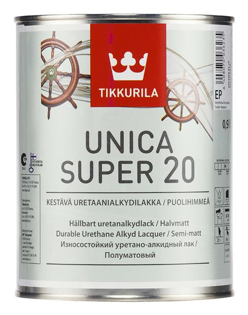 Tikkurila Unica - lak na dřevěné podlahy (interiér i exteriér)