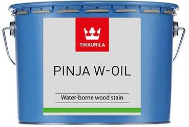 Tikkurila PINJASOL W-OIL (Vodou ředitelný olej na dřevěné povrchy v interiéru i exteriéru)
