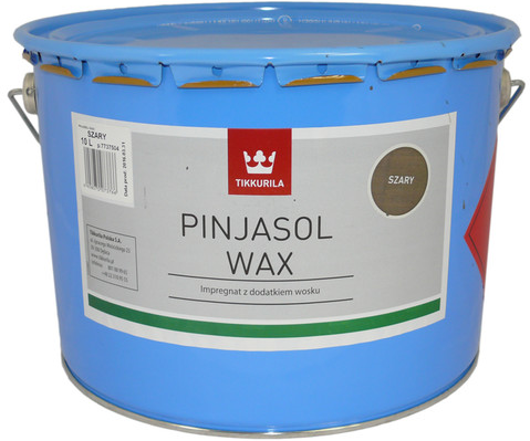 Tikkurila PINJASOL WAX (Mořidlo s voskem na dřevěné povrchy exteriéru)