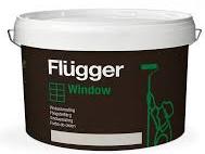 Flügger AQUA WINDOW (Vodou ředitelný alkyd-akrylátový email na dřevo)