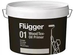 Flügger WOOD TEX AQUA 01 OIL PRIMER - dříve 90 AQUA (Vodou ředitelný aklydový penetrační olej na dřevo)