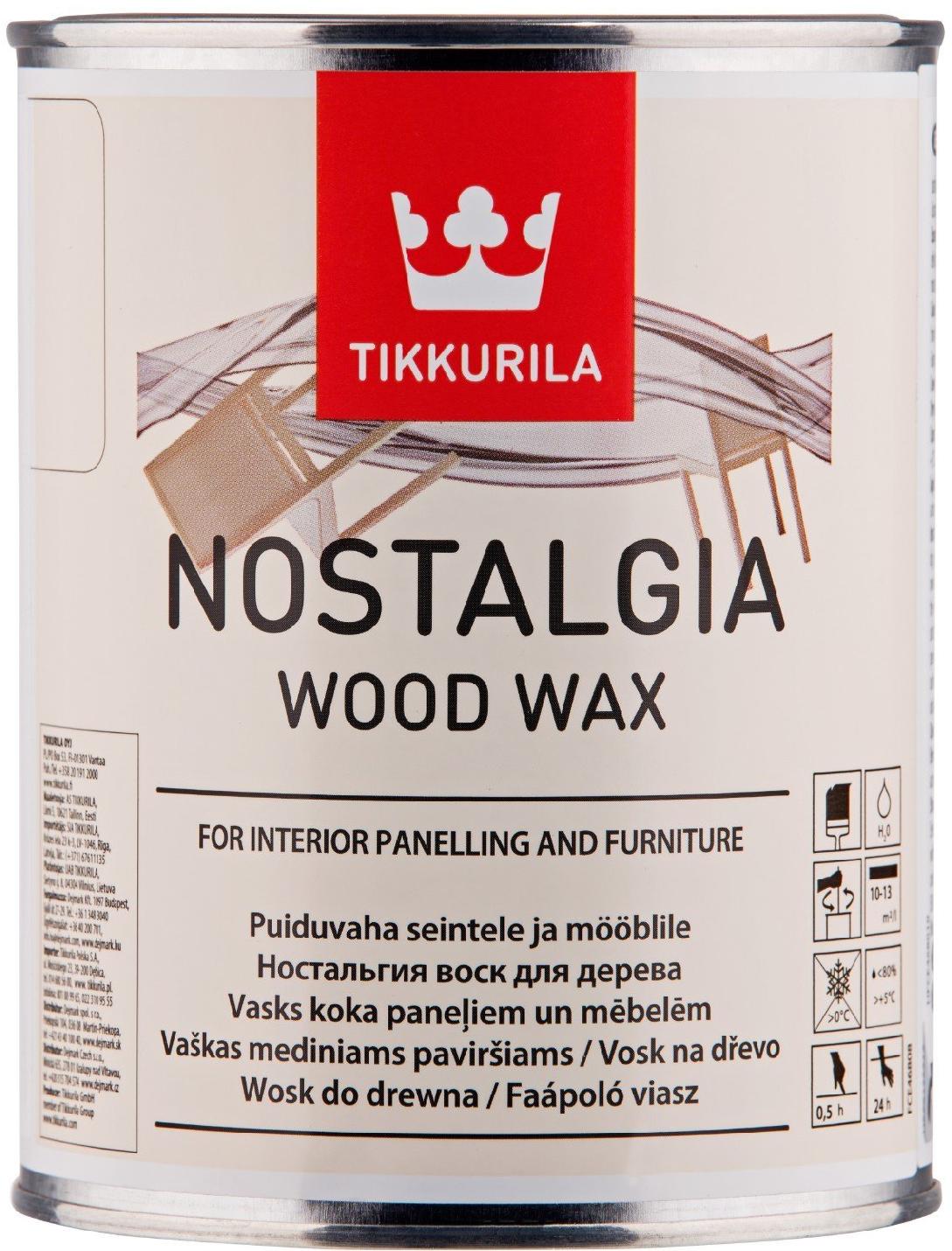 Tikkurila NOSTALGIA WOOD WAX (Tekutý vosk na dřevo)