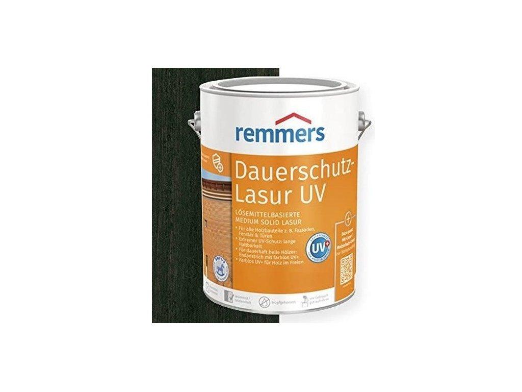 Remmers Dauerschutz Lasur UV (Dříve Langzeit Lasur) 2,5L ebenholz-ebenové dřevo 2252