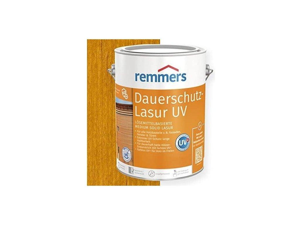 Dauerschutz Lasur UV (Dříve Langzeit Lasur) 20L eiche rustikal-rustikální dub 2263  + dárek v hodnotě až 200 Kč zdarma k objednávce