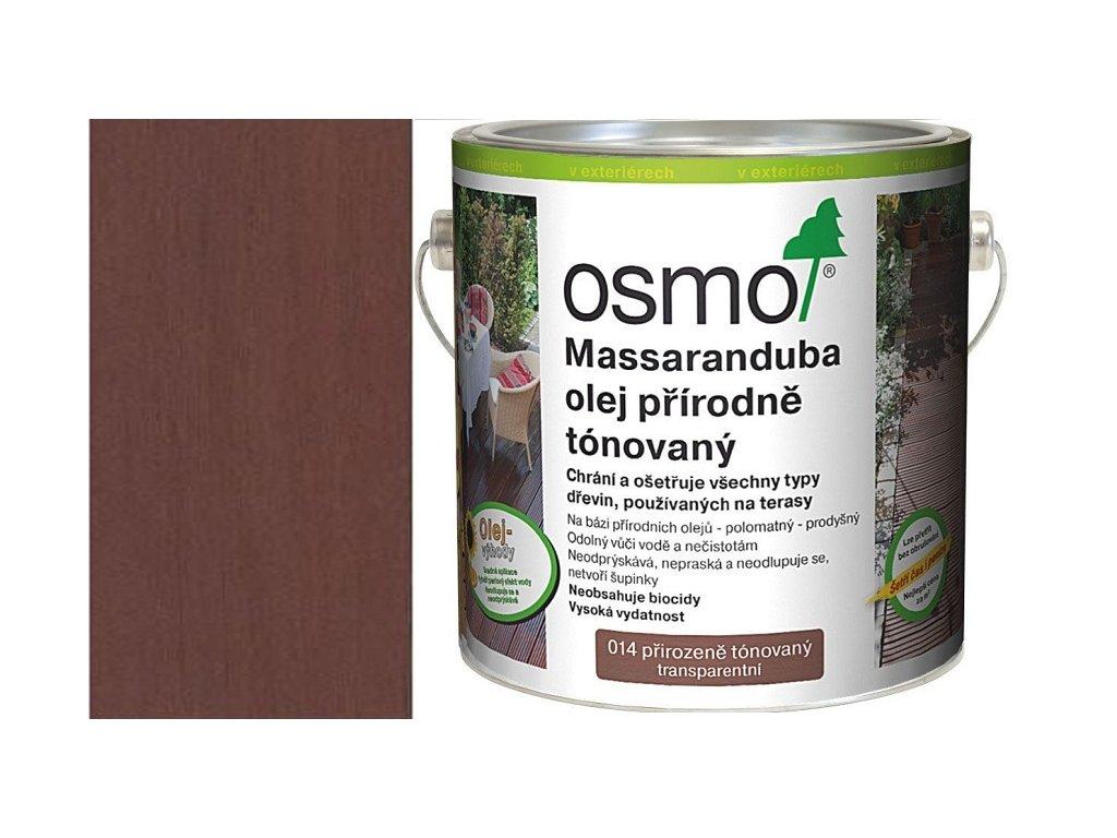 TERASOVÉ OLEJE 014 Massaranduba olej přírodně zbarvený 2,5 l