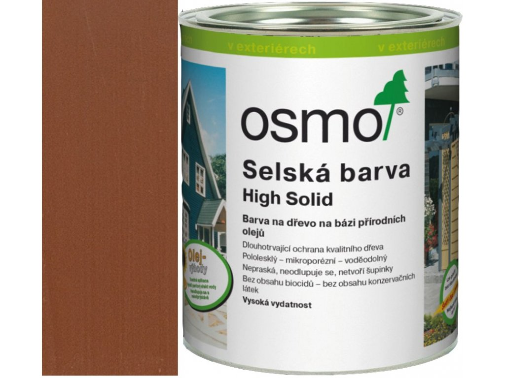 Osmo SELSKÁ BARVA 0,75L 2310 cedr/červené dřevo