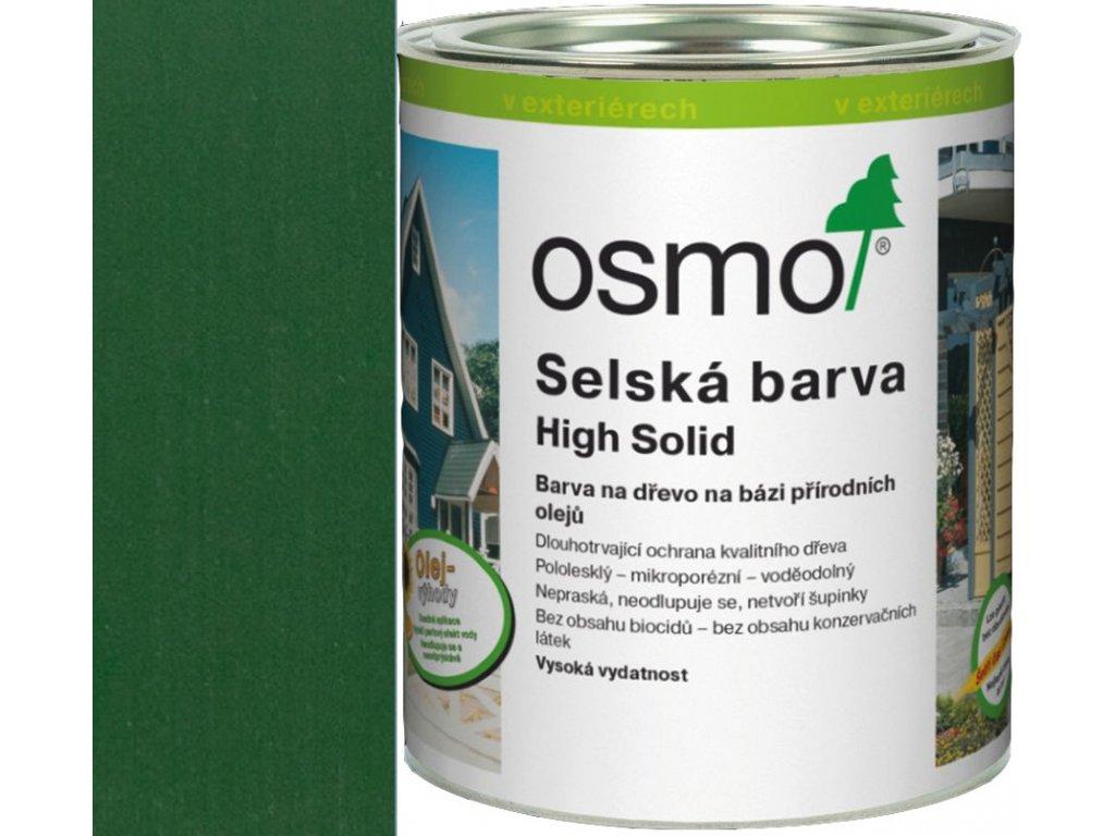 Osmo selská barva 0,75L jedlově zelená 2404