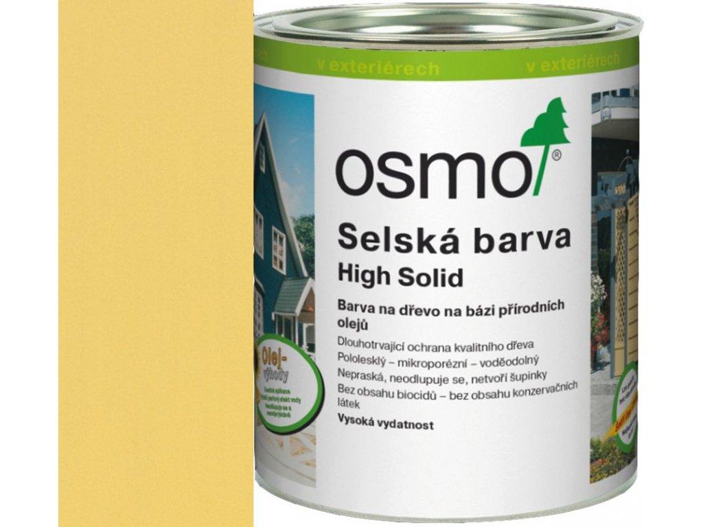 Osmo SELSKÁ BARVA 2,5L 2205 slunečně žlutá  + dárek v hodnotě až 250 Kč k objednávce