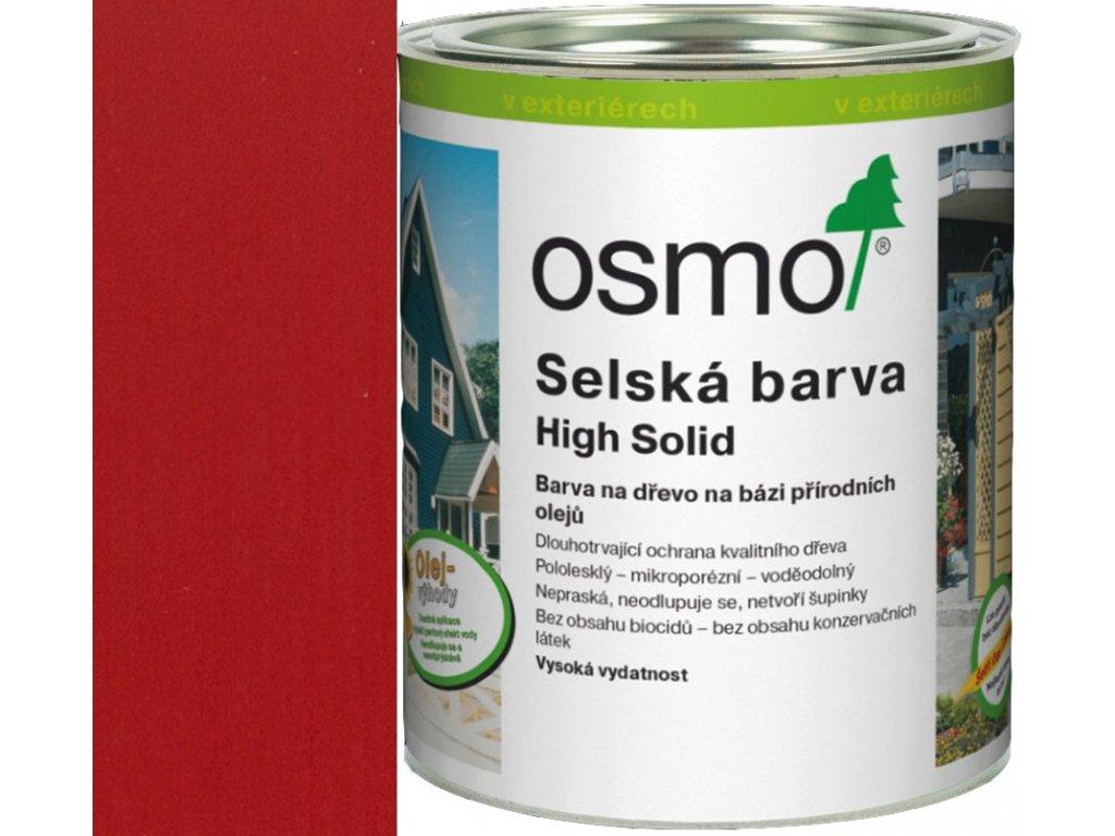 Osmo SELSKÁ BARVA 2,5L 2311 karmínově červená  + dárek v hodnotě až 250 Kč k objednávce
