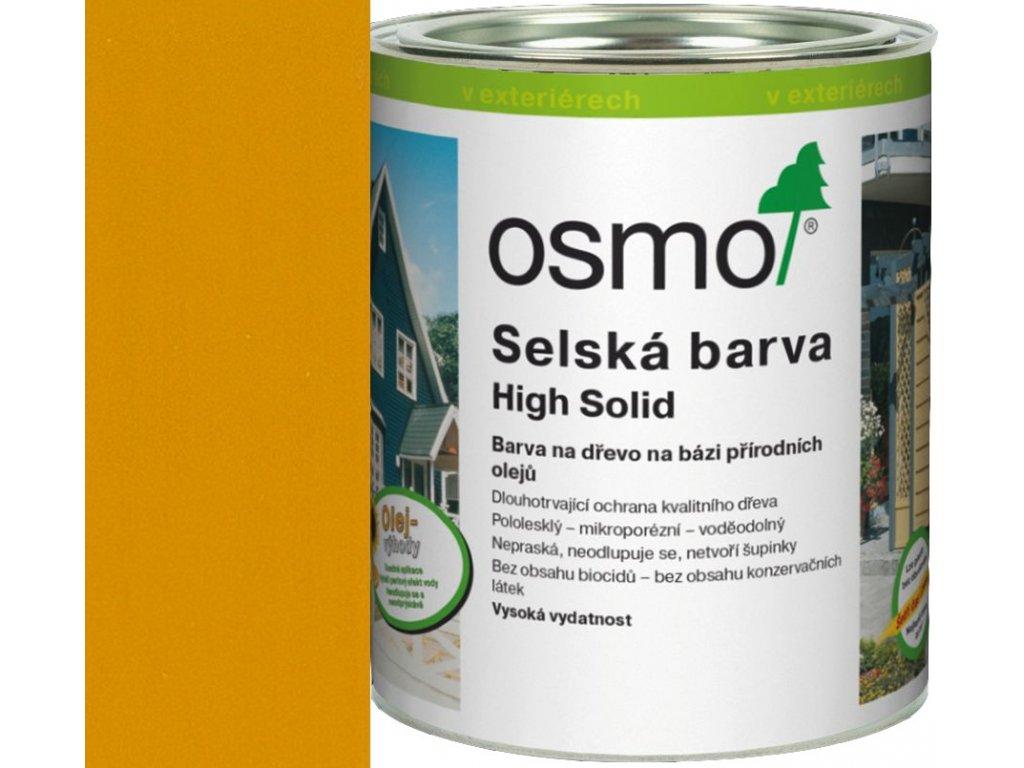 Osmo SELSKÁ BARVA 25L 2203 smrkově žlutá  + dárek v hodnotě až 1000 Kč k objednávce