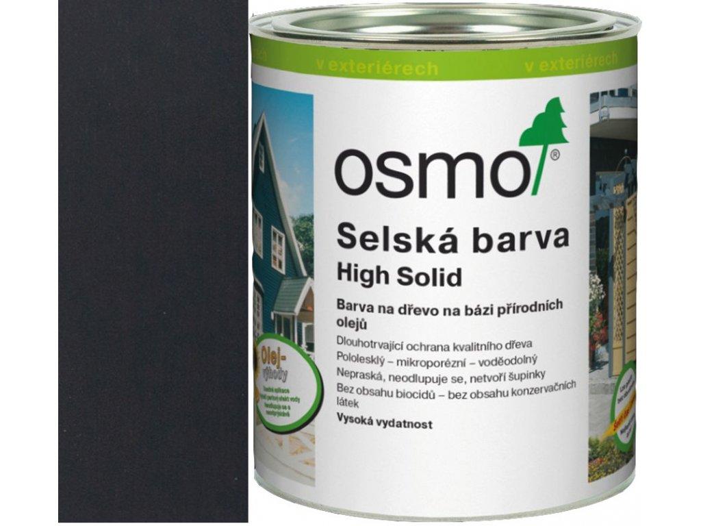 Osmo SELSKÁ BARVA 25L 2703 černošedá  + dárek v hodnotě až 1000 Kč k objednávce