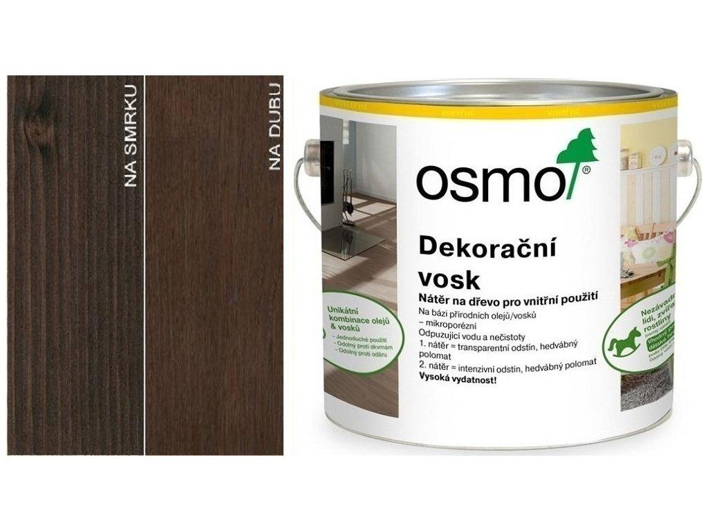 Osmo Dekorační vosk transparentní 2,5L 3161 Ebenové dřevo  + dárek v hodnotě až 250 Kč k objednávce