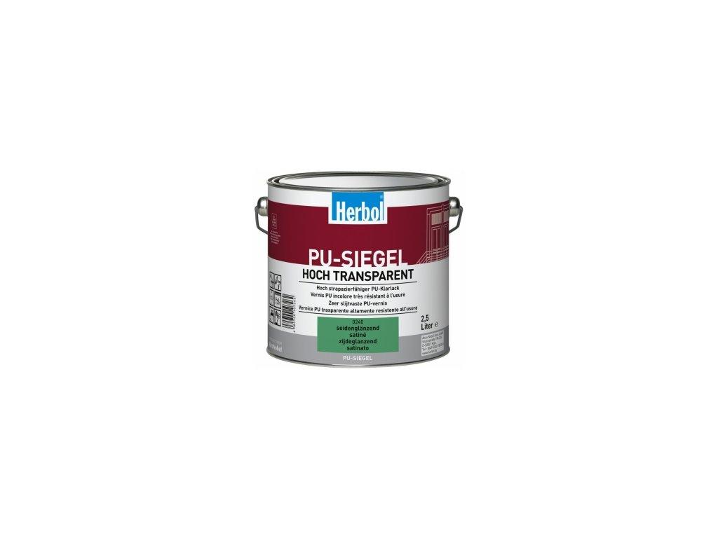 PU-SIEGEL 2,5L - polyuretanový nátěr do interiéru (stupeň lesku protiskluz)